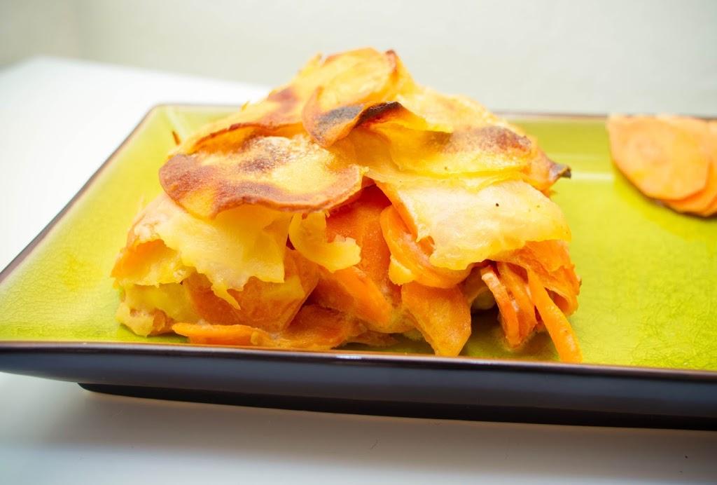 Gratin Pomme de terre – Carotte – Panais
