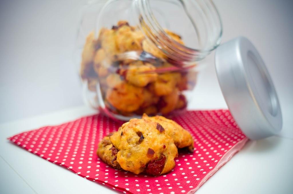 Cookies Tomates séchées et sésame