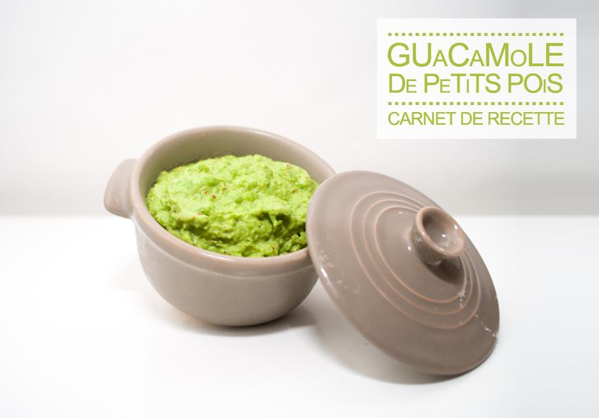 It's so Fresh #3 : Guacamole de petits pois