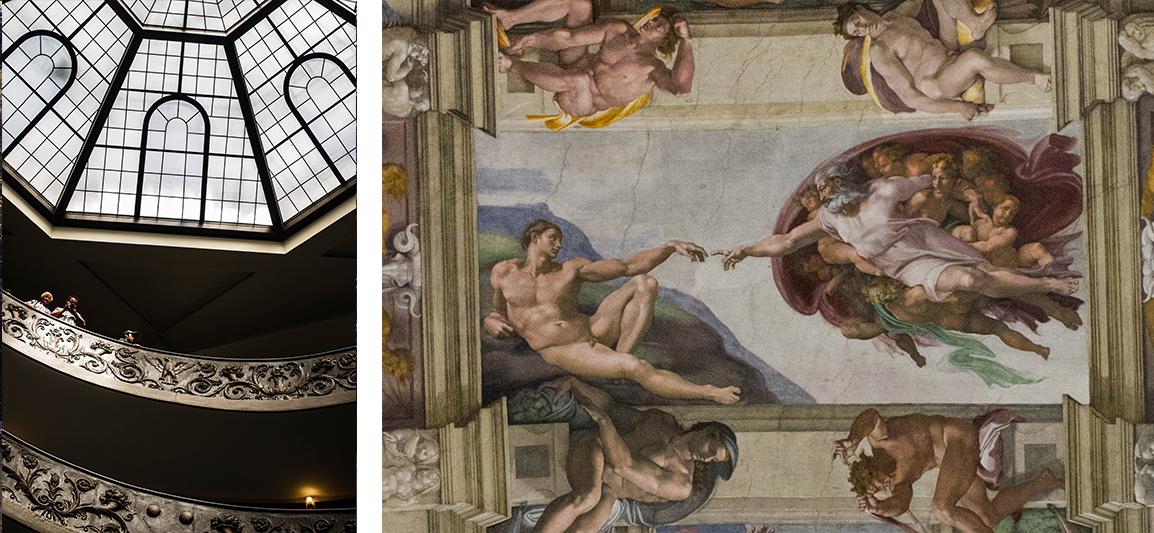 Rome musée du vatican