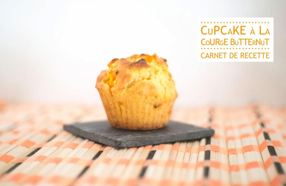 Variation autour de la butternut #2 : les cupcakes