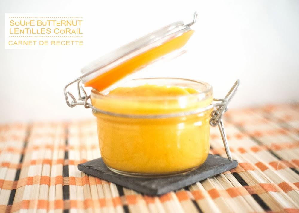 Variation autour de la Butternut #1 : la soupe
