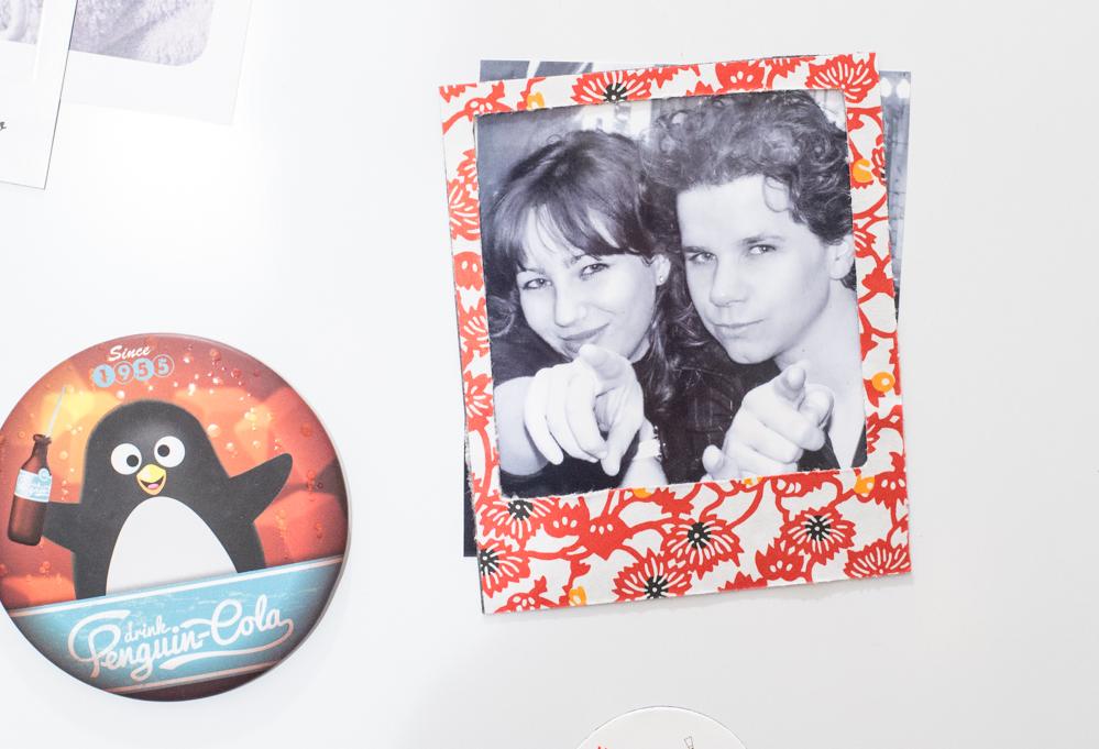 DIY de l'été #2 : magnet polaroid japonisant