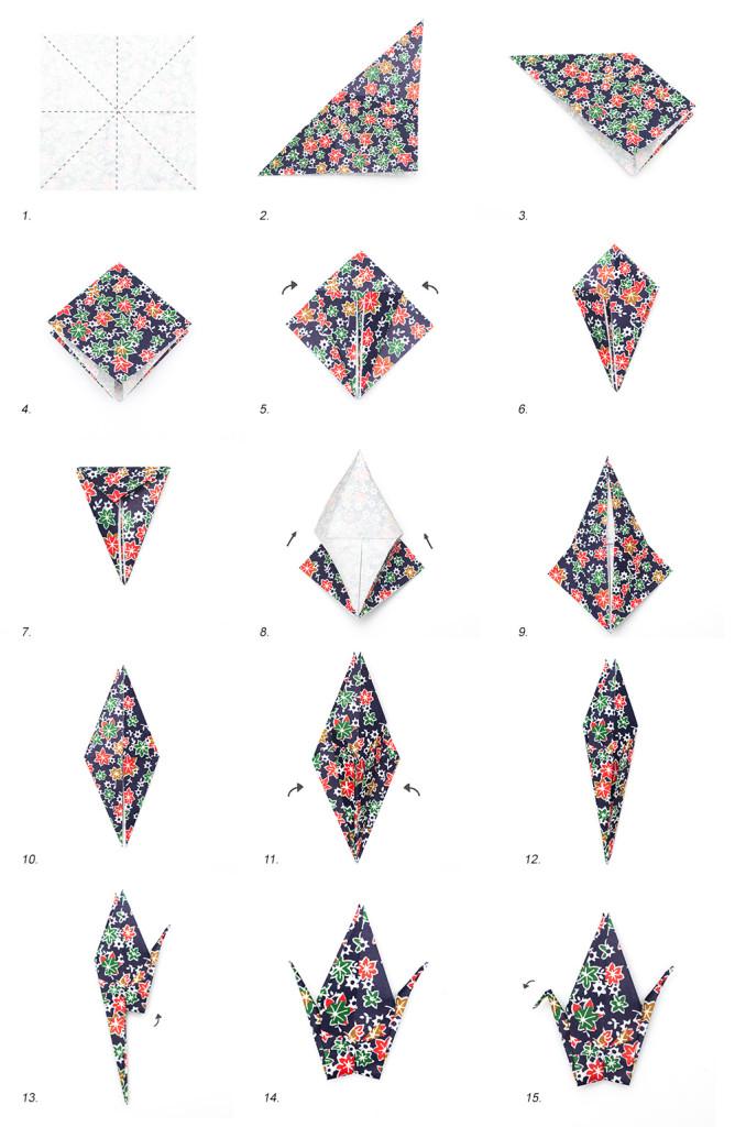 Plaige Grue Origami