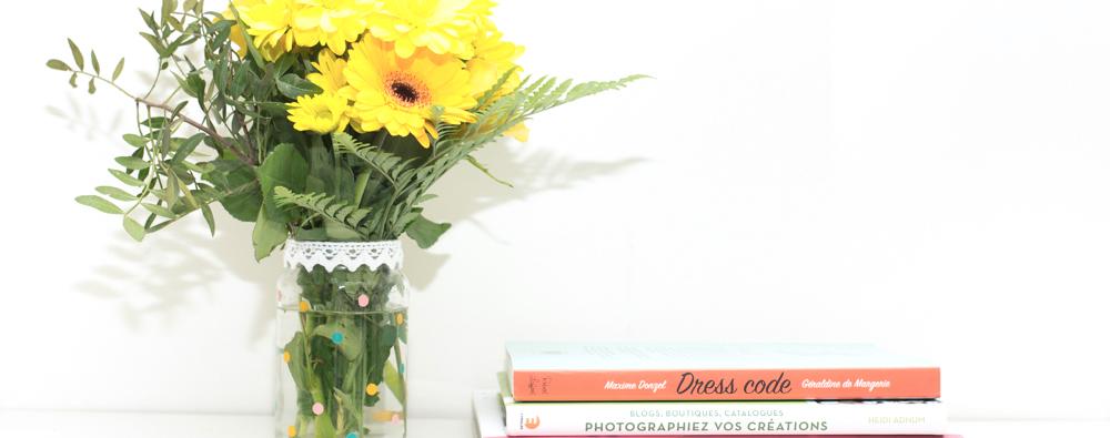 DIY de l'été #4 : le vase à pois