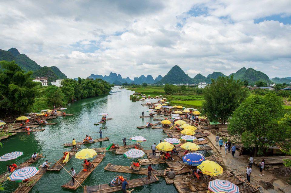 Les paysages karstiques de Yangshuo
