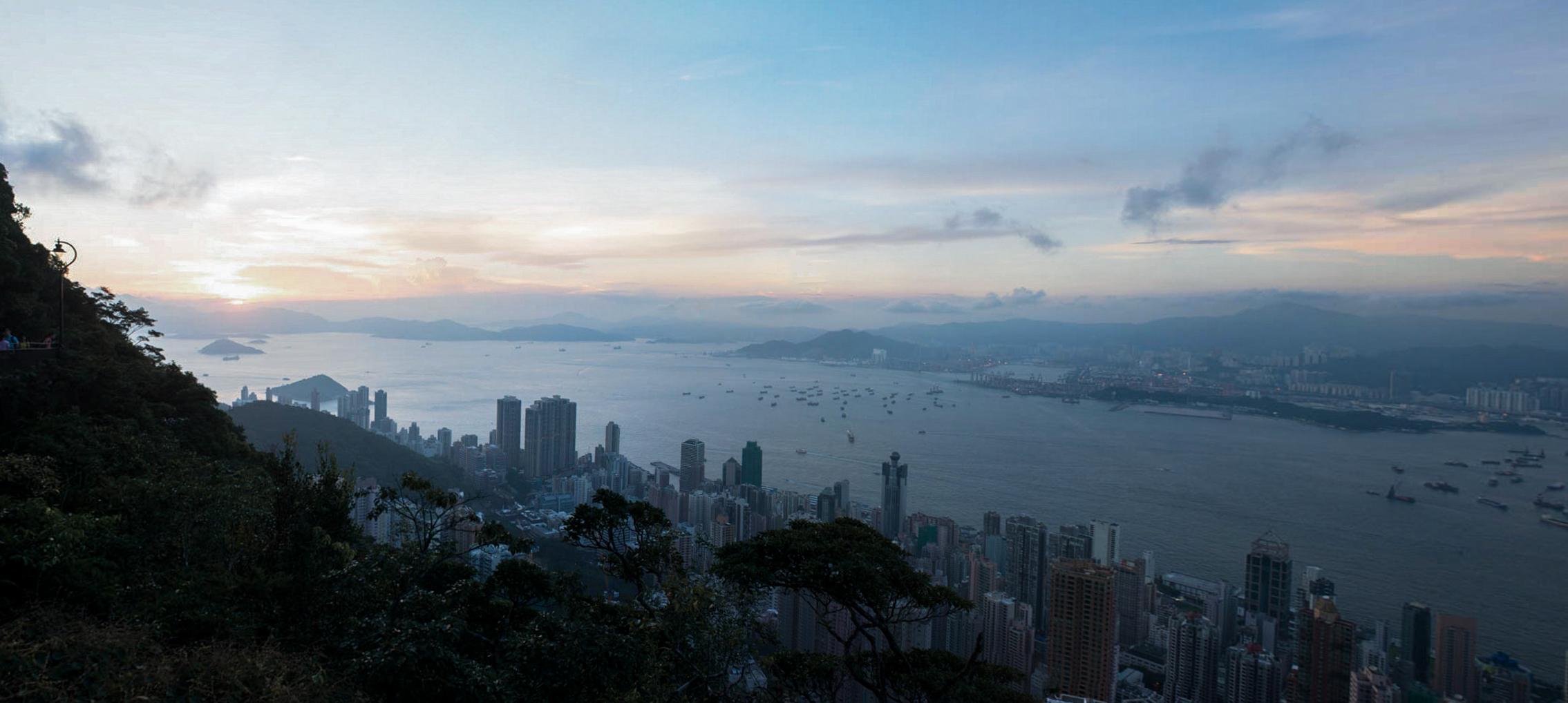 panorama Hong Kong