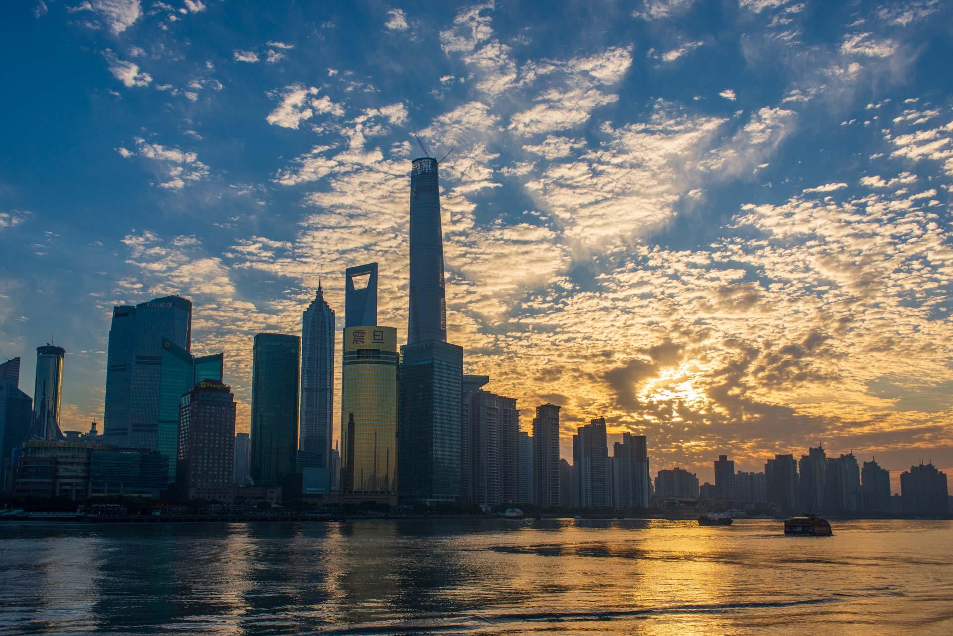 Dernière étape chinoise : Shanghai