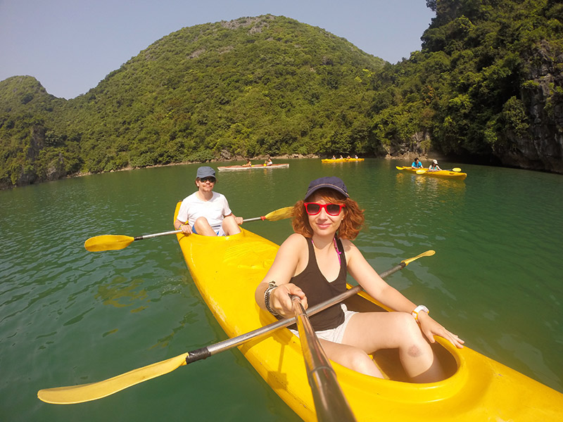 Cat Ba Kayak