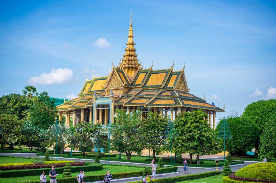 Phnom Penh, premiers jours au Cambodge