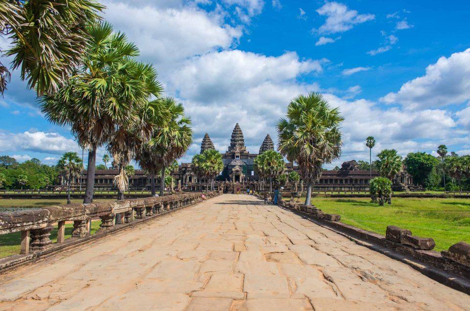 Les temples d'Angkor, sans les touristes