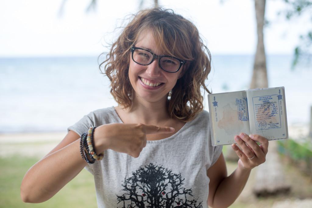 Visa pour la Birmanie à bangkok