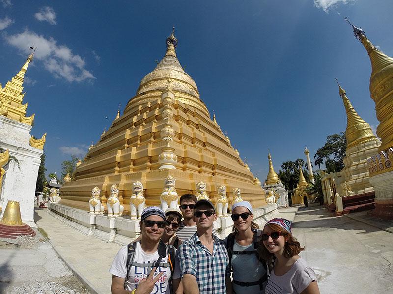 Mandalay - Pagode Inwa