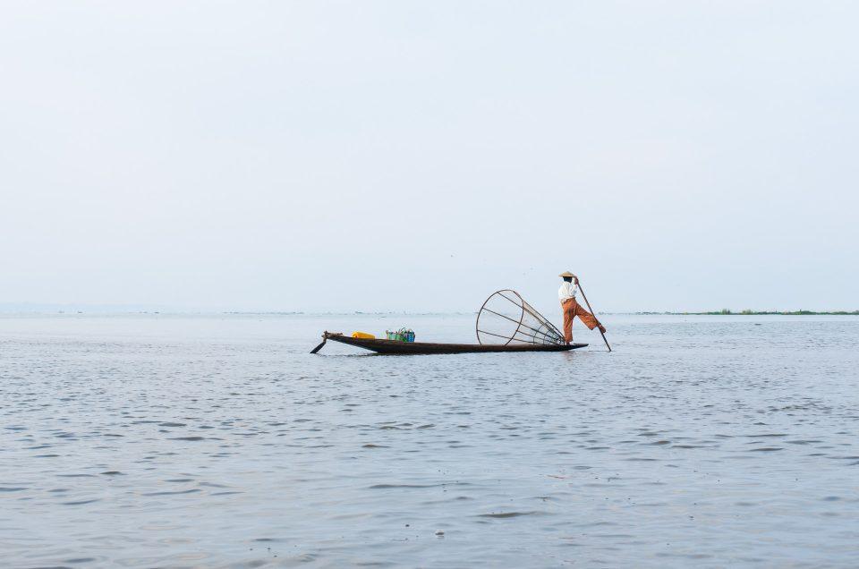 Birmanie : 1 journée de bateau sur le lac Inle