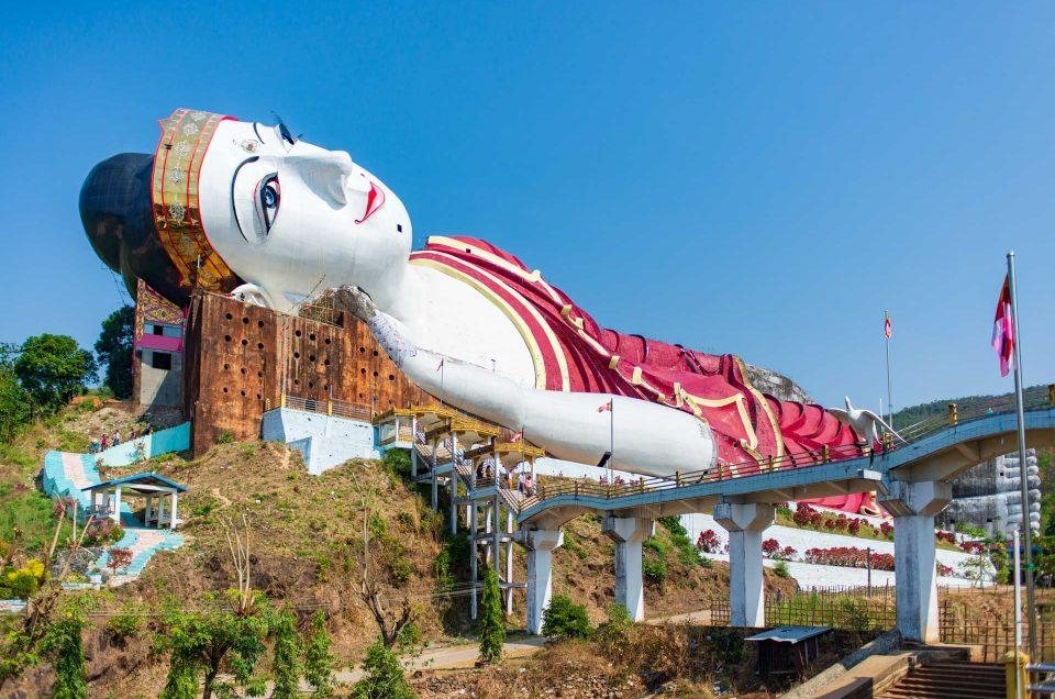 Mawlamyine et son grand bouddha