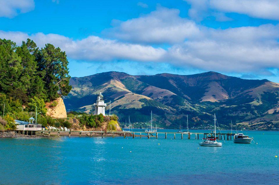 Nouvelle Zélande #1 : Akaroa – Banks Peninsula