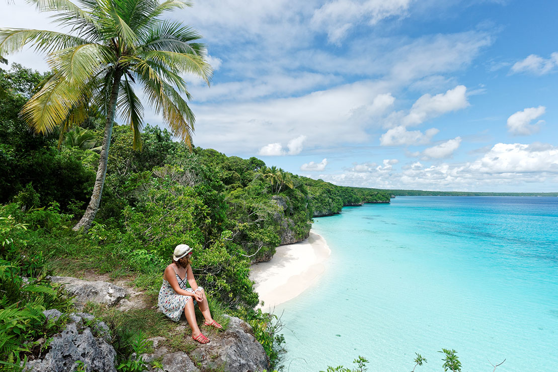 Kiki Beach Lifou - package île Loyauté