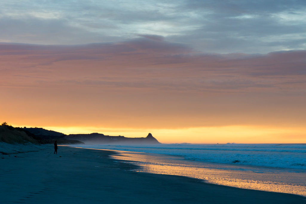 Sunset otago