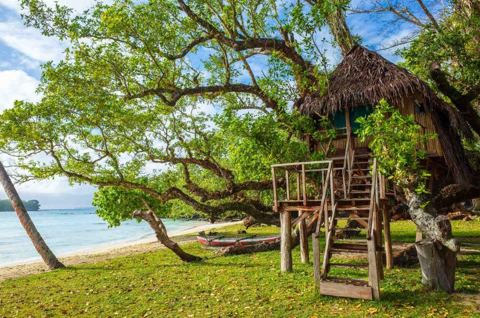 Vanuatu – Santo : Côte Est & village de Fanafo