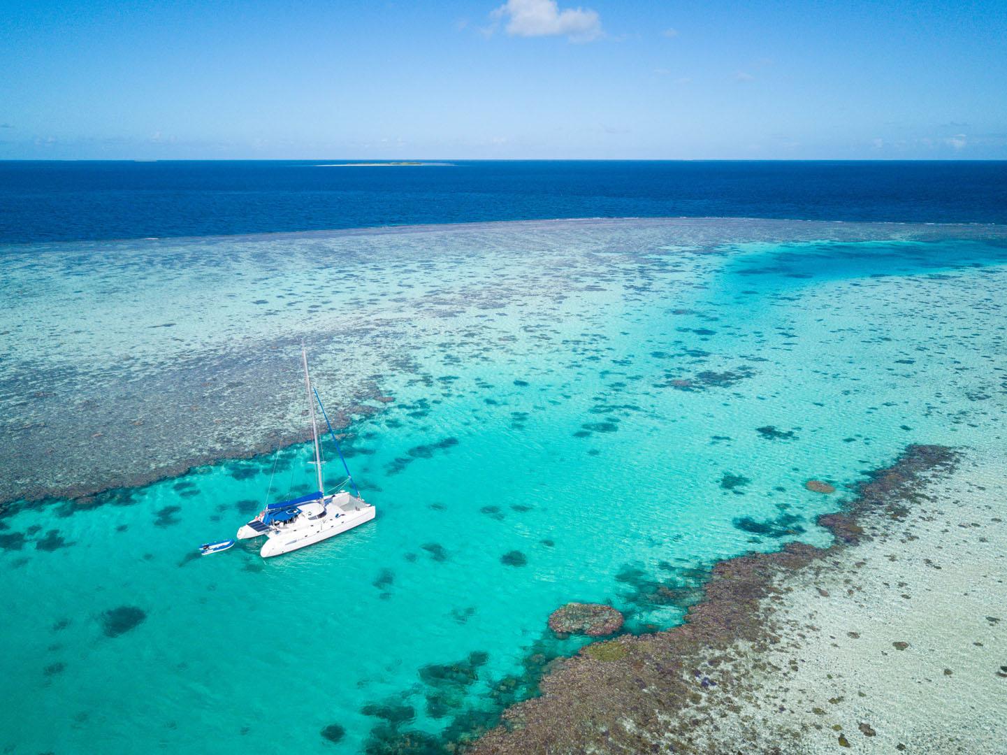 Week-end Catamaran Nouvelle-calédonie