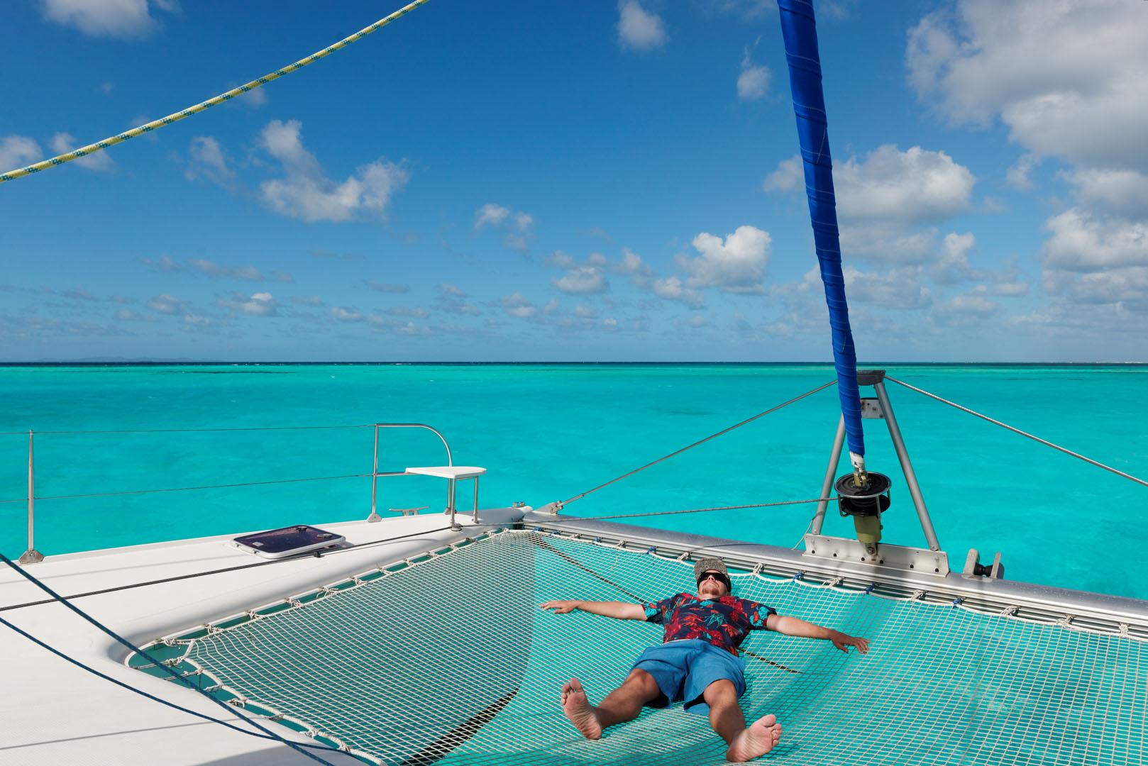 week-end catamaran