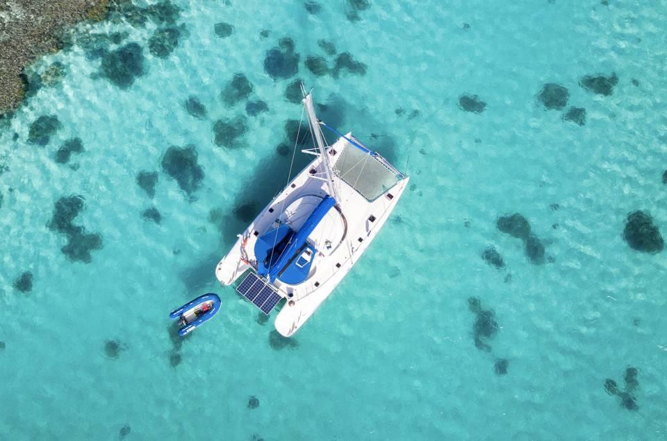 Week-end Catamaran : A la découverte des 5 îles