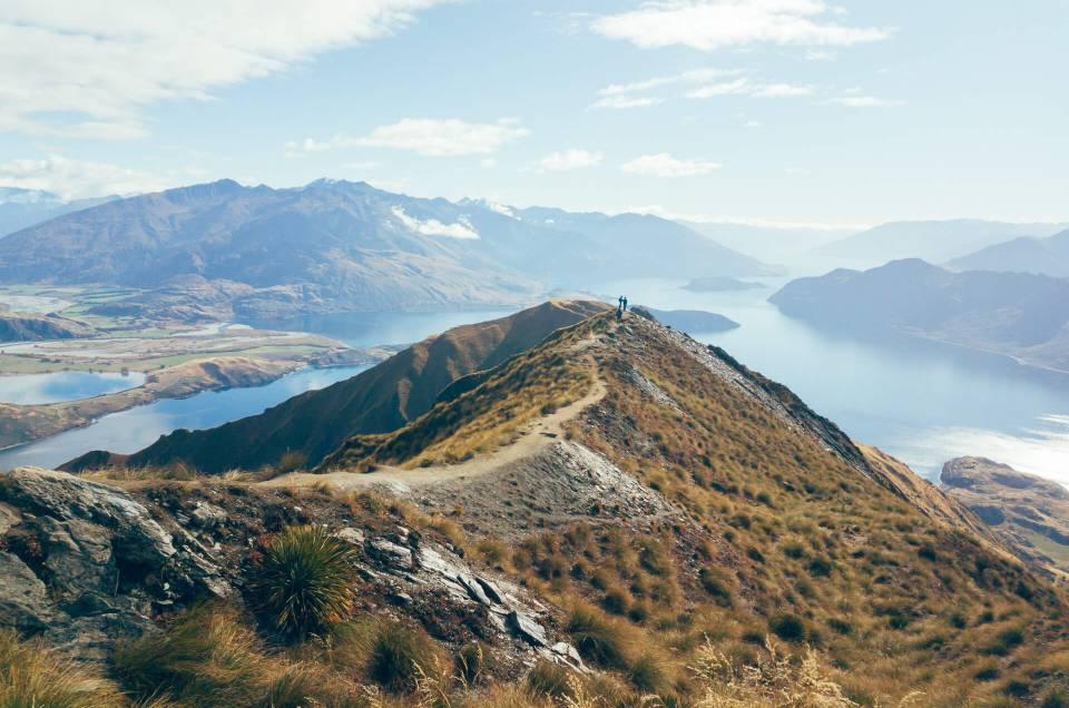 Randonnée Nouvelle-Zélande : Le Roy's Peak
