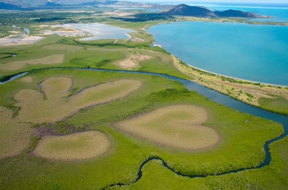 Nouvelle-Calédonie : Survol du célèbre coeur de Voh