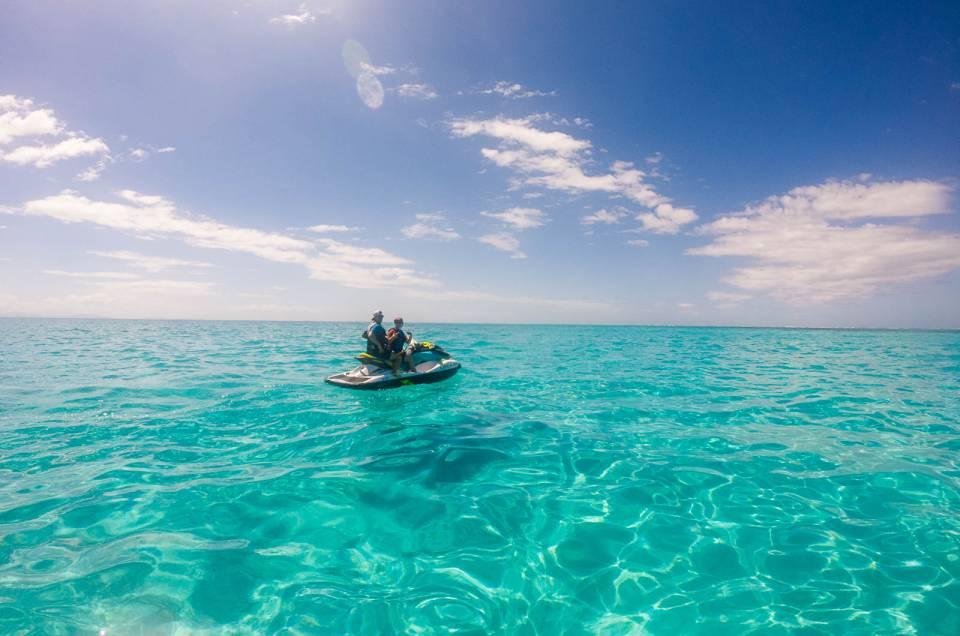 Nouvelle-Calédonie : Sortie en jetski au Phare Amédée