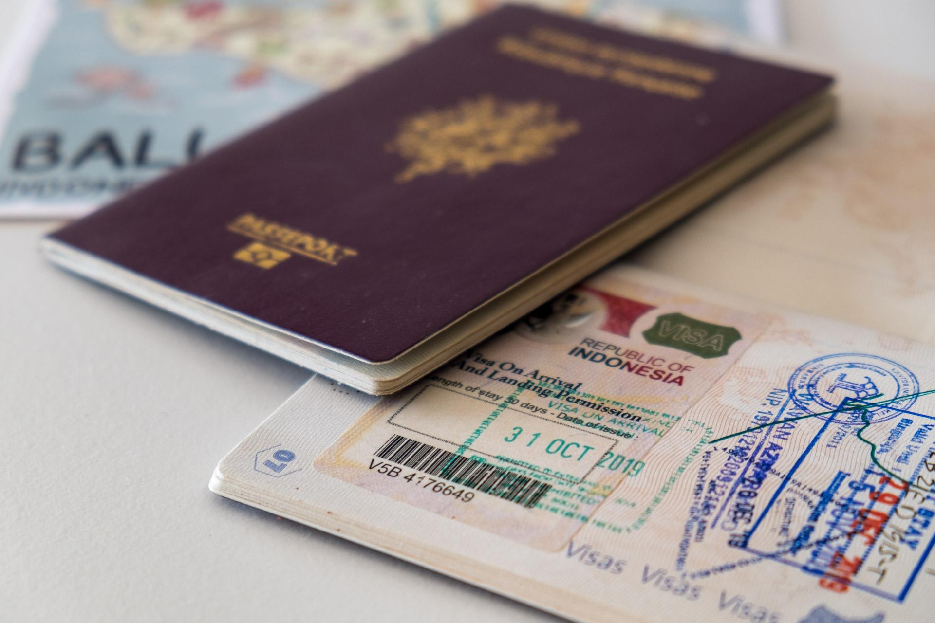 extension visa Indonésie